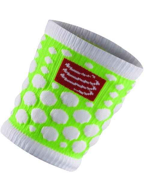 Compressport 3D Dots Sweatband Fluo Green